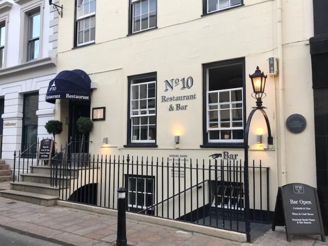 No 10 Restaurant, Jersey