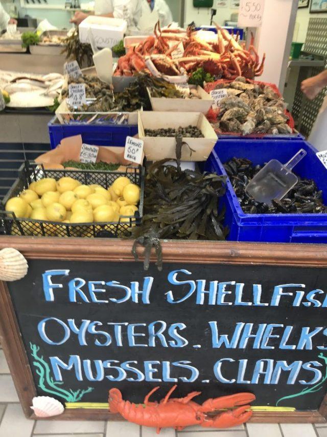 Fish market, St Helier