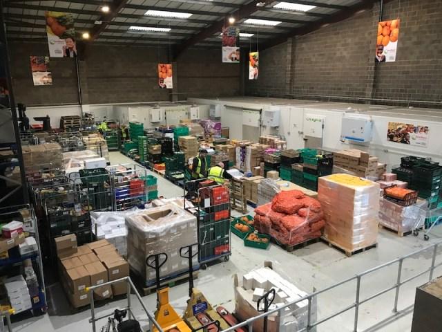 FareShare warehouse Wigston