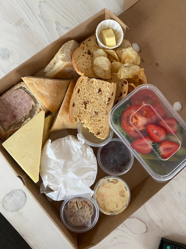 Ploughmans from The Royal Oak