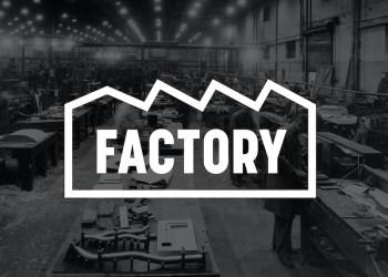 Mock-up of factory at FarGo Village