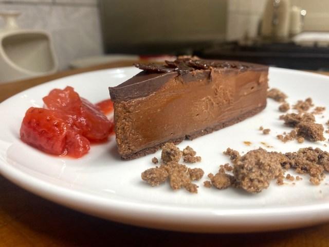 Chocolate dessert from Cornerstone Kitchen