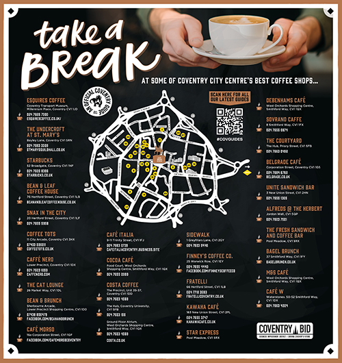 Coventry coffee guide