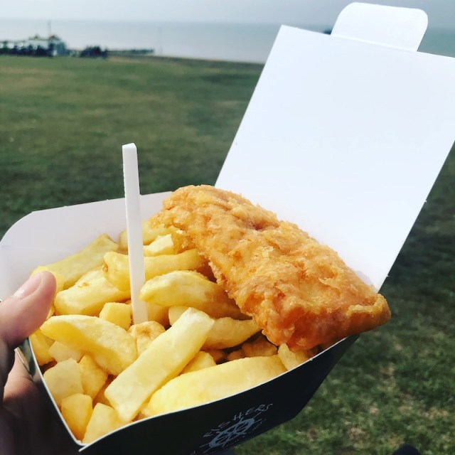 fish and chips Norfolk