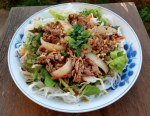 Vermicelli Noodles With Lemon Grass Beef Recipe