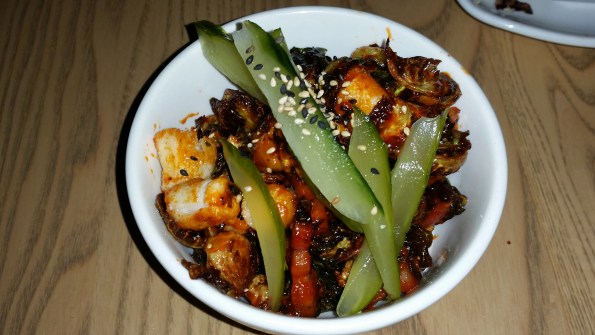 Lemongrass Brussel Sprouts