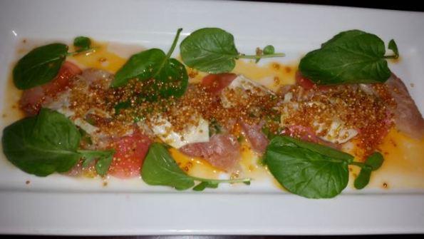 Albacore tuna crudo