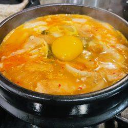 Jjigae Udon - Spicy Noodle Soup