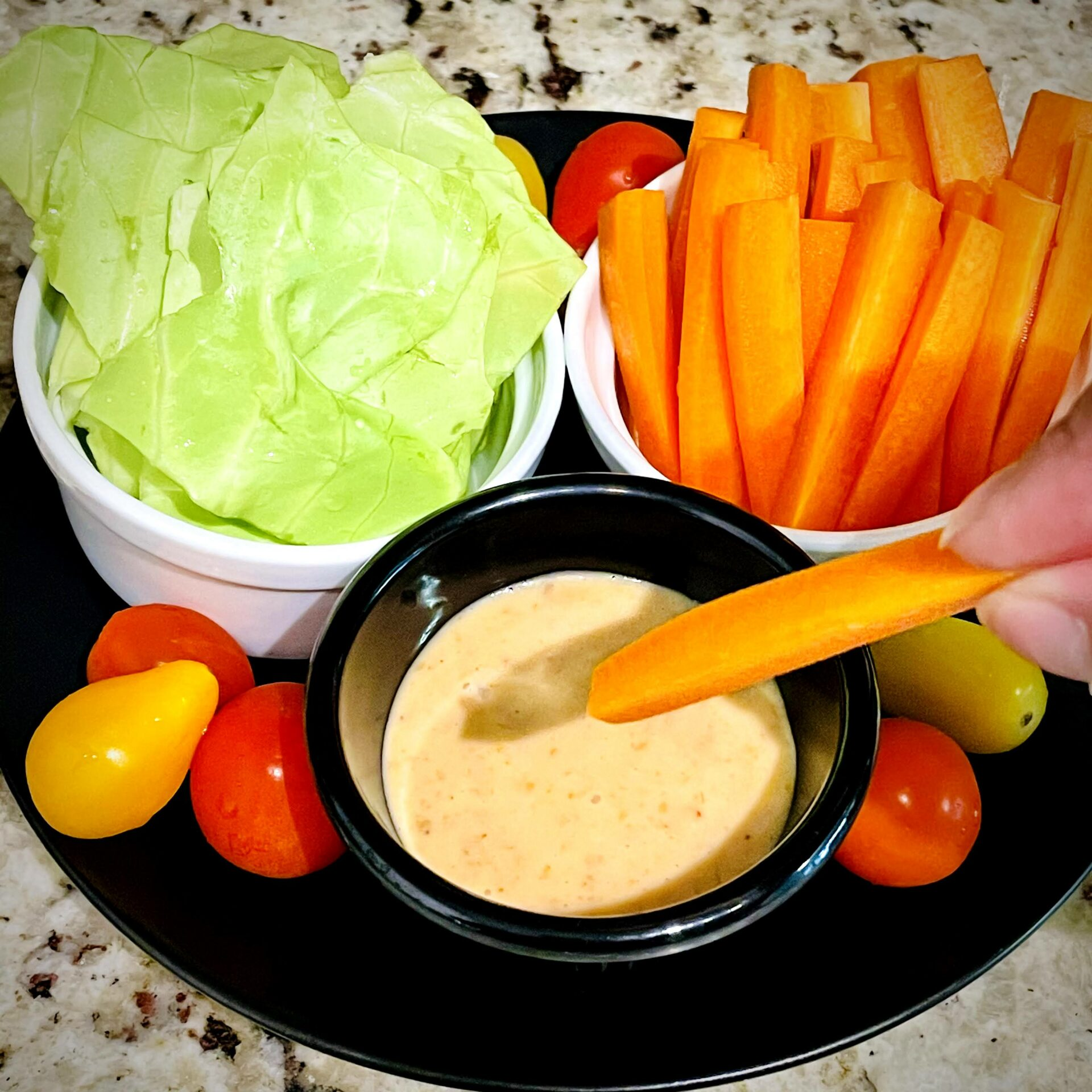 Vegetable and Miso Spicy Mayonnaise