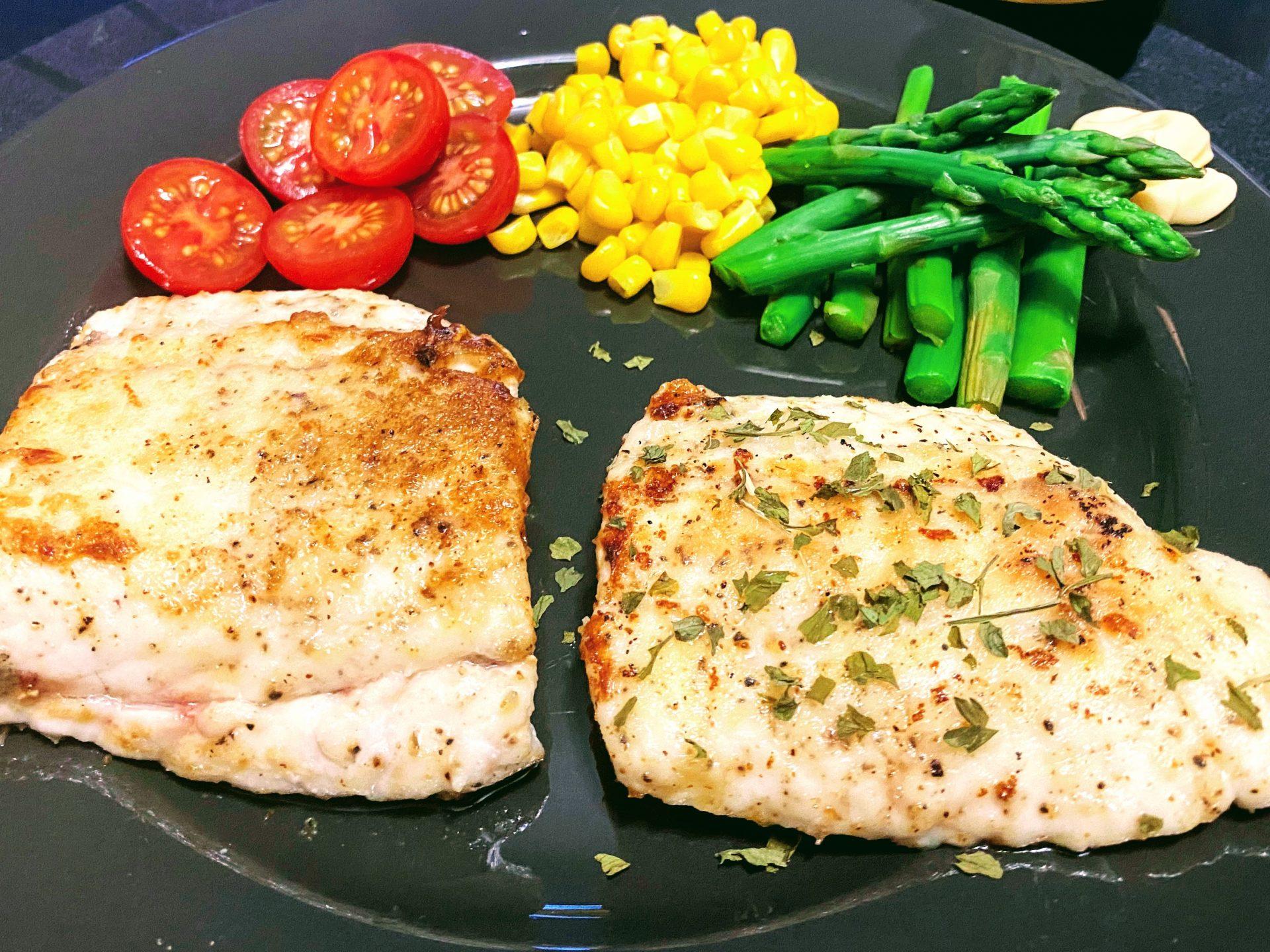 Halibut Grilled Fish