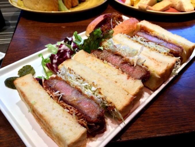 Katsu Sando (Gyukatsu Sandwich)