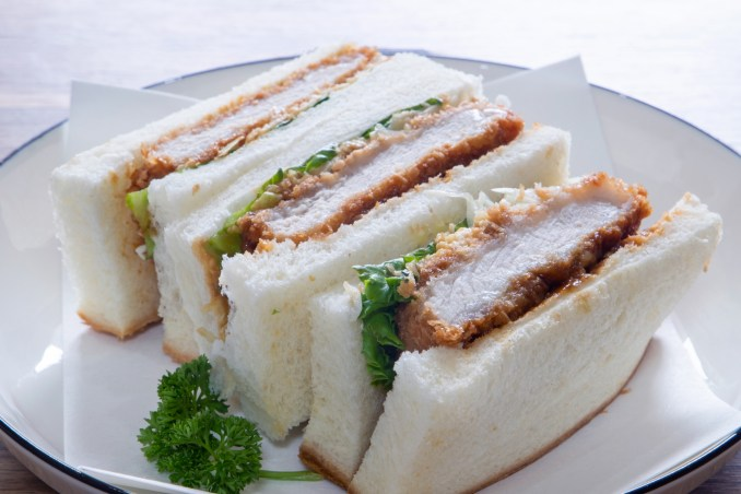 Katsu Sando (Tonkatsu Sandwich)