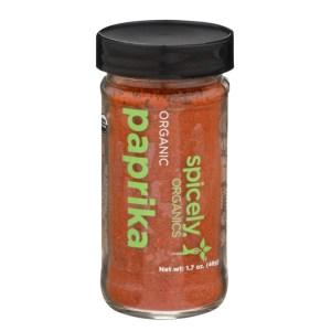 Organic Paprika Powder Spicely