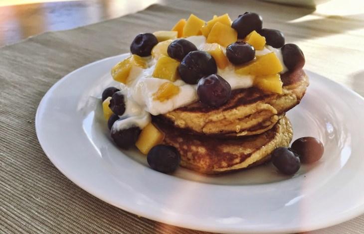 Gluten Free/Paleo Coconut Pancakes