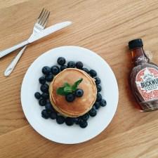 Lemon & Poppy Seed Yoghurt Pancakes