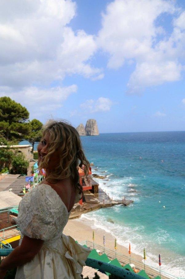 Capri wedding me2
