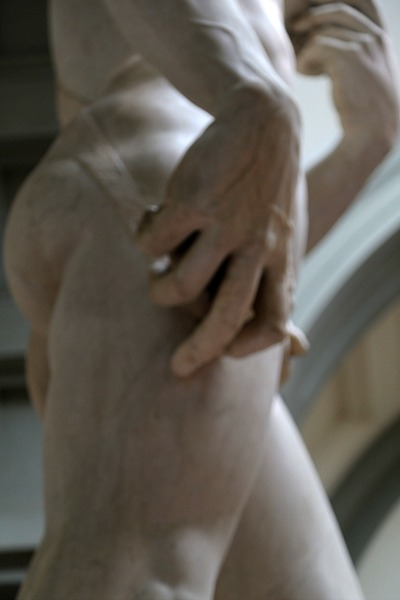 Florence David's hand