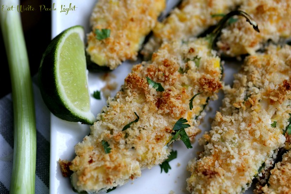 Healthier Jalapeno Poppers
