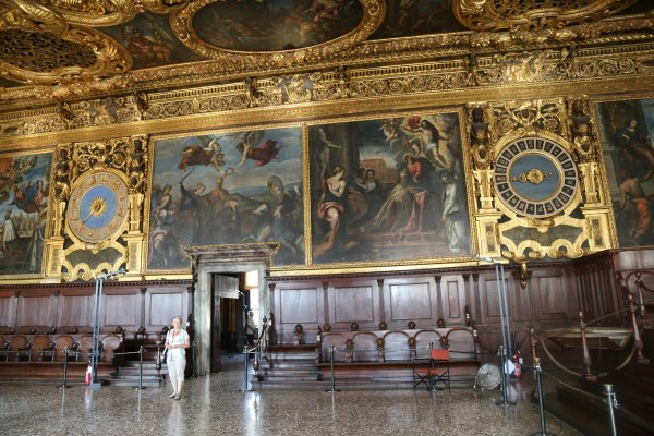 Venice Doge's Palace Empty2
