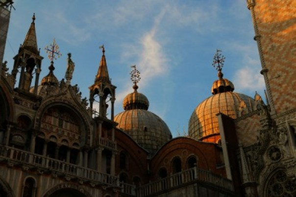 Venice St Marks Basilica evening