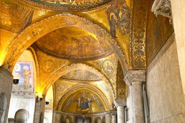 Venice St Marks Ceilings