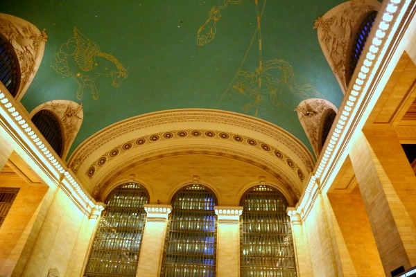 New York Grand Central ceiling