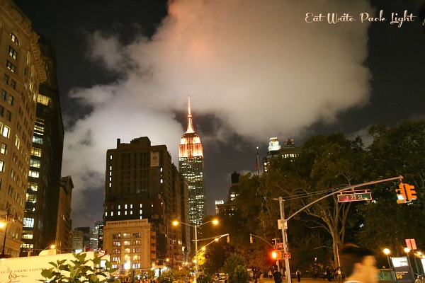 New York Night Empire State Building