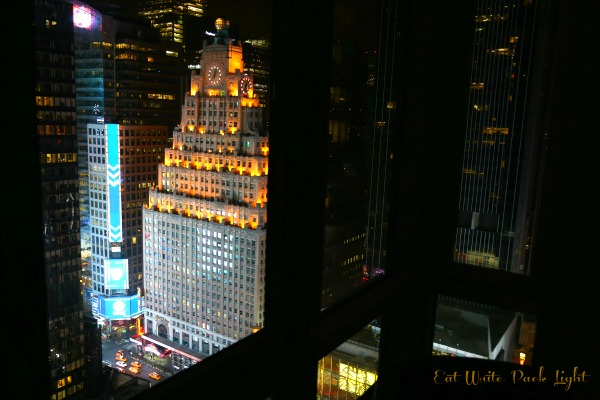 New York Room at night