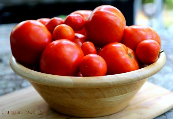 Roasted Beet and Tomato Salad last bowl of tomatoes