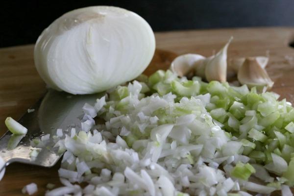 quinoa stuffed acorn squash onions