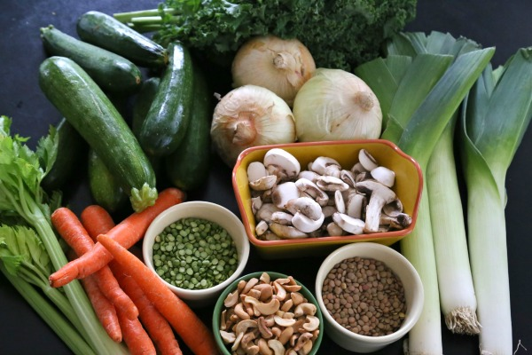 Immmunity Soup Vegetables