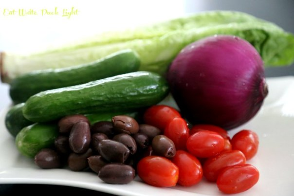 Italian Chopped Salad Ingredients