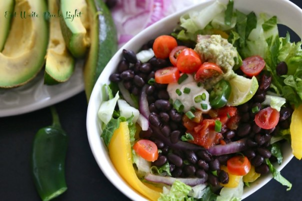 Black Bean Southwest Salad Bowl