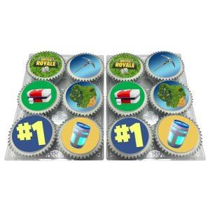 Battle Royale Cupcakes