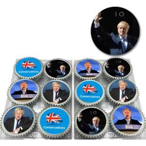 Conservative Boris Cupcakes