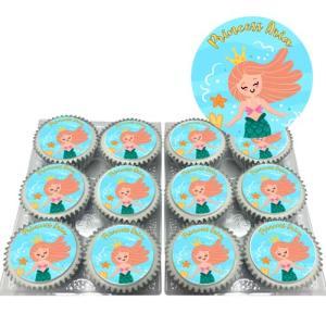 Underwater Princess Cupcakes