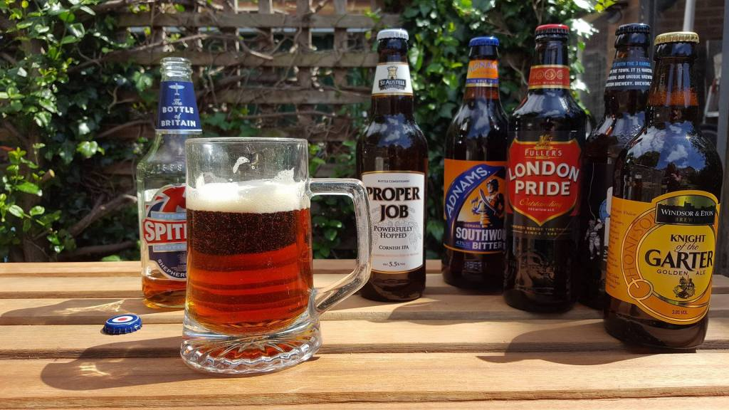 Real Ale on a Sunny Day