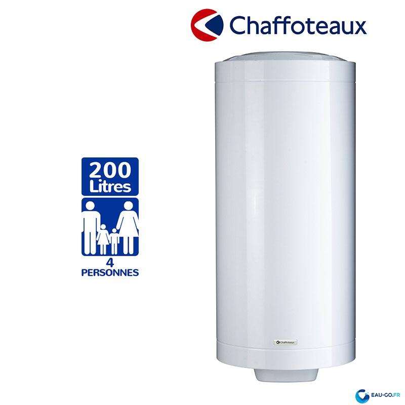 Chauffe Eau Electrique 200l Chaffoteaux Steatite Vertical Mural