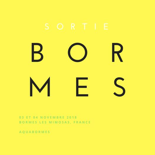 SORTIE BORMES LES MIMOSAS, NOV. 2018