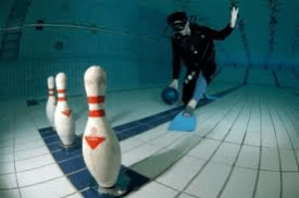 bowling sous marin
