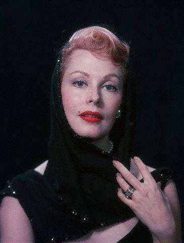1950's style icon Arlene Dahl