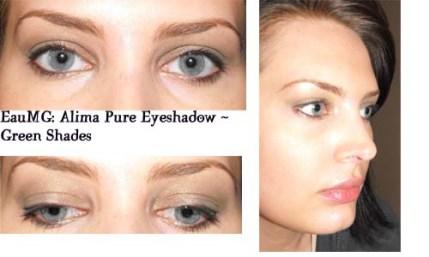 Alima Pure eyeshadow look