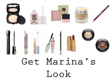 How to get vintage look of Marina Vlady