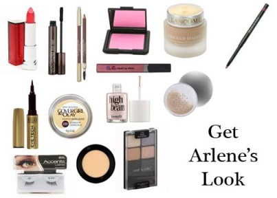 Makeup tutorial to get vintage 1950's look of Arlene Dahl