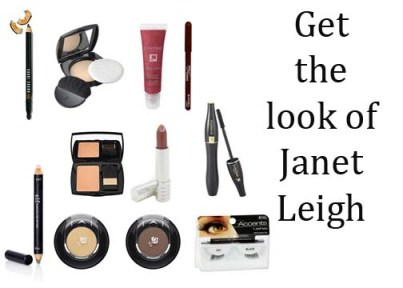Get the 1950's makeup look of Janet Leigh