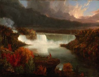 Thomas Cole Distant View of Niagra