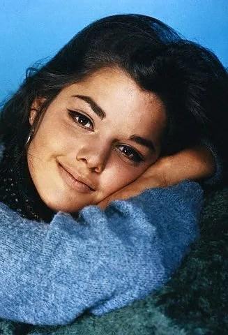1960's Makeup look of Tina Aumont