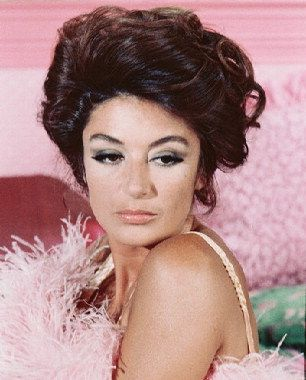 Makeup look of Anouk Aimee