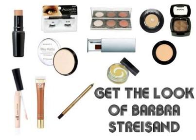 1960's makeup look of Barbra Streisand