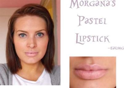 Review & swatch of Morgana Cryptoria Peach Daiquiri Lipstick